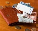 portfel z gotówką